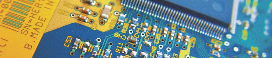 Circuit board banner