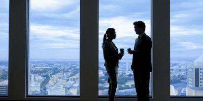 Businesspeople-talking